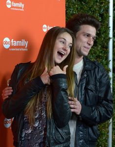 Shailene Woodley and Daren Kagasoff