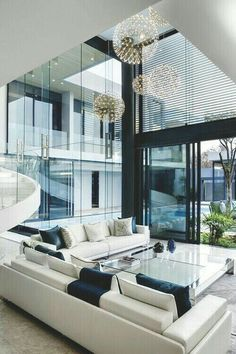 Luxury Modern Homes, Modern Home Interior Design, Modern House Design, Luxury Interior, Interior Ideas, Modern Mansion, Modern Interiors, Black Interiors, Interior Colors