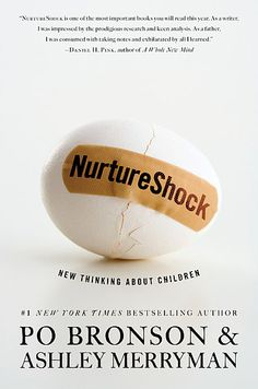 Nurture Shock - fantastic book, well worth a read if you are in any way interacting with kids...parents, teachers, etc.  Brilliant.