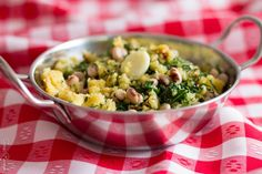 food and life! Potato Salad, Side Dishes, Salads, Potatoes, Homemade, Ethnic Recipes, Life, Food, Corn Spoon Bread