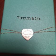 AUTHENTIC Return to Tiffany's tag bracelet Double strand, 6.5 inches.  Bought from their website for $150.  Get it half off!  Would make a great Christmas gift!   Comes with original box and card. Tiffany & Co. Jewelry Bracelets
