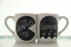 Regalos originales! tazas para dejar mensajes con tiza