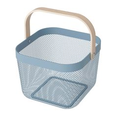 RISATORP Basket IKEA This basket makes it easy to access and get an overview of your fruit and vegetables, and has a decorative look.
