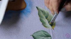 Eliane Nascimento: Minhas dicas de pintura - Como eu pinto folhas
