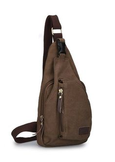 "ModernManBags.com - Muze ""Route 202"" Men's Canvas Single Shoulder Sling - Khaki Tan, $29.99 (http://www.modernmanbags.com/muze-route-202-mens-canvas-single-shoulder-sling-khaki-tan/)"