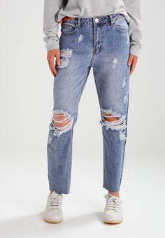 Glamorous. Jeans baggy - mid blue. Avvertenze:Lavaggio a macchina a 30 gradi. Lunghezza interna della gamba:67 cm nella taglia S. Composizione:100% cotone. Lunghezza della gamba esterna:96 cm nella taglia S. Materiale:Jeans. Lunghez...