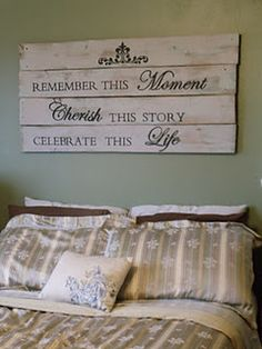 love this for over the bed ...