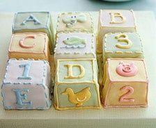 Baby Shower Mini Cakes!