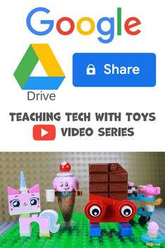 Google Drive How-To Share Video. This is part of the Teaching Tech with Toys YouTube Video Series. Teaching Technology, Google Classroom, Google Drive, Student, Make It Yourself, Toys, Youtube, College Students