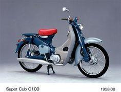 Honda Super Cub C100 - 1958