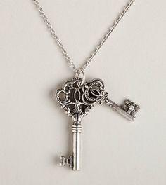 American Eagle/Key Pendant Necklace