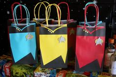 In case Xander decides he wants a Star Trek party, this blog has it all