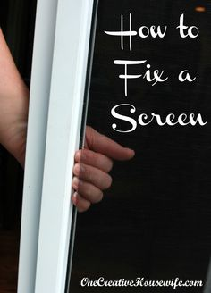How To Fix a Screen, very easy!