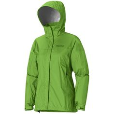 Marmot PreCip® Jacket - Waterproof (For Women) in Bright Grass