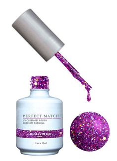LeChat Perfect Match Gel + Matching Lacquer 40 Days In Rio #85