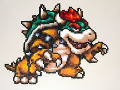 Bowser Bead Sprite by Doctor Octoroc, via Flickr - Wowie