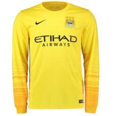 bdb95292c Manchester City 2015 2016 Away Goalkeeper Shirt - Available at  uksoccershop.com