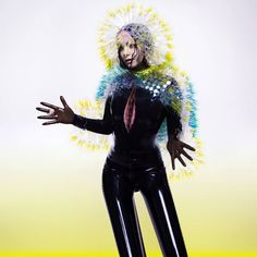 Bjork wears Syren's latex catsuit and gloves on her new album Vulnicura.  Photographed by Inez and Vinoodh http://inezandvinoodh.com/, styled by Mel Ottenberg http://melottenberg.tumblr.com/
