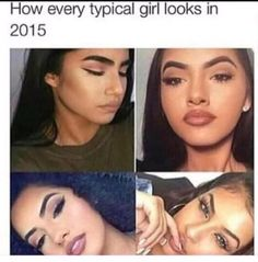 badbitchesfashion: 4rmduvalcounty: yall pretty and all yall just look the same I think they mean the brows