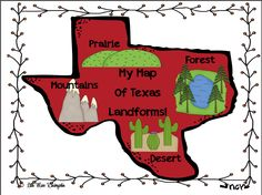 Texas Physical Map by Maps.com from Maps.com -- World'-s Largest ...