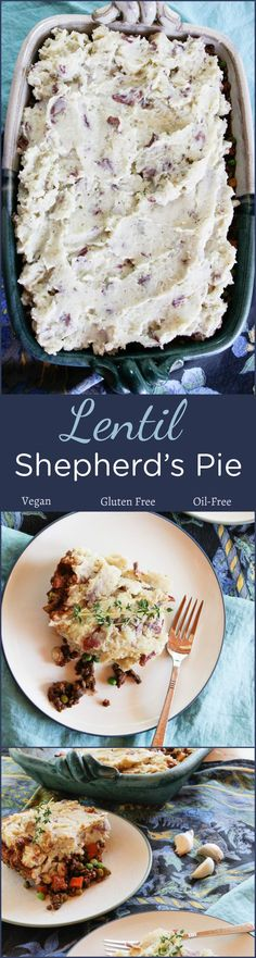 Lentil Shepherd's Pie #plantbased #vegan