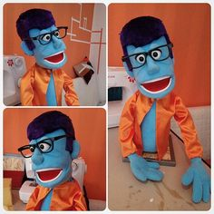 Person Puppet by kadempuppets