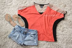 Sears Style Coral Ideas #thisisstyle #shop via www.geniabeme.com @geniabeme.com