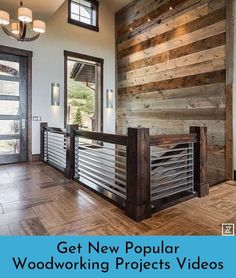 This amazing house that Shaundra Garcia from our Layton, Utah store did in last years parade of homes. Still puts a smile on my face. The chandelier pairs well with the wood work. Wood Fireplace Surrounds, Reclaimed Wood Fireplace, Fireplace Ideas, Ideas Cabaña, Decor Ideas, Future House, My House, Parade Of Homes, Barn Wood
