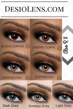 Air Optix Colors On Naturally Brown Eyes Order 918 893