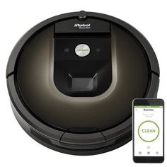 The Roomba 980 Vacuuming Robot seamlessly navigates room to room to clean an entire level of your home, recharging and resuming until the job is done. The Roomba 980 automatically increases cleaning power Innovation, Must Have Gadgets, How To Clean Carpet, Carpet Runner, Smart Home, Rugs On Carpet, Carpets, Cool Things To Buy, Amazing Things