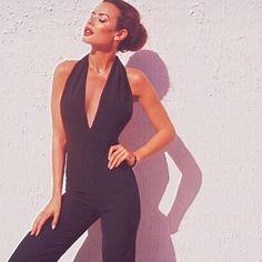 Turn heads with our 'Paris' jumpsuit in black 😍  http://www.alibionline.com.au/paris-jumpsuit-by-style2runway/  #shop #getthelook #lookbook #ootd #ootn
