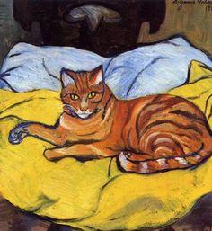 L'antenata di Zelda - Raminou, 1922 - Suzanne Valadon (French, 1865-1938) Post-Impressionism