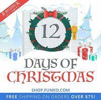 "Funko Pop Wave!: ""12 Days of Christmas"" en la Funko-Shop"
