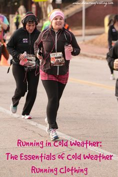 It's Tuesdays on the Run! Today I am talking about cold weather running and my essentials of cold weather running clothing.