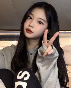 Korean Beauty Girls, Pretty Korean Girls, Cute Korean Girl, Pretty Asian, Asian Beauty, Asian Girl, Korean Girl Photo, Korean Girl Fashion, Pretty Makeup