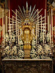 An Act of Faith in the Blessed Sacrament