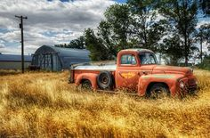 old farmhouse pictures | the old good year truck i ve always thought that when old trucks go to ...