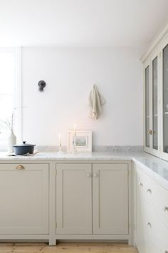 White kitchens will always be my favorite. There's just something about a white kitchen that makes it feel clean and fresh - the perfect ...