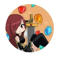 Fairy Tail Erza *w* Art Fairy Tail, Fairy Tail Images, Fairy Tail Photos, Fairy Tail Funny, Fairy Tail Girls, Fairy Tail Couples, Fairy Tail Ships, Fairy Tail Anime, Fairy Tales