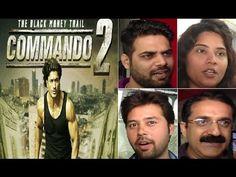 COMMANDO 2 Public Review | Vidyut Jamwal, Adah Sharma, Freddy Daruwala. Commando 2, Adah Sharma, Bollywood News, Public, Youtube, Fictional Characters, Fantasy Characters, Youtube Movies
