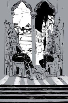 Clary and Sebastian (TMI)   http://cassandrajp.tumblr.com  