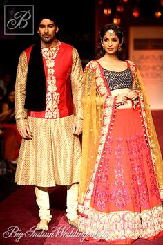 Shyamal & Bhumika Indian bridal wear