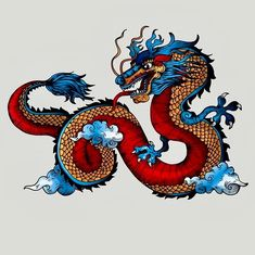 Fantasy Dragon, Dragon Art, Fantasy Art, Dragon Tattoo For Women, Dragon Tattoo Designs, Dragon Wallpaper Iphone, Dragon Hoodie, Chinese Dragon Tattoos, Dragon Illustration