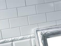 Till köket: Lhådös Kakel Santana - Vit Blank 10x20 cm Alcove, Curtains, Flooring, Bathroom, Interior, Kitchen, Walls, Home Decor, Washroom