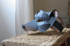 Rat mask, painted | Flickr: Intercambio de fotos