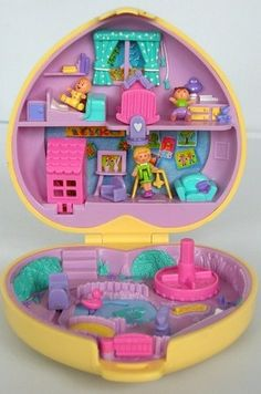 Polly Pocket: | 32 Of Your Childhood Toys That Are Worth An Absolute Fortune Now.   Man.... I gotta dig out my Polly Pocket collection, NOW.