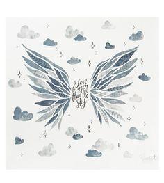 Baby Blanket - Wings