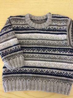 En tröja till en liten kille