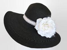 Womens Kentucky Derby Hat Sun Hat Summer by IfTheHatFitsByJackie, $35.00