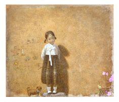 Korean Painting, Painting & Drawing, Birth Animal, Modern Pictures, Book Design Layout, Korean Art, Classical Art, Figurative Art, Cool Artwork